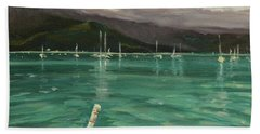 Harbor View Beach Towel