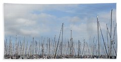 Harbour Of Enkhuizen Beach Sheet
