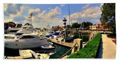 Harbour Town Marina Sea Pines Resort Hilton Head Sc Beach Sheet