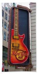 Hard Rock Cafe , Ny Beach Towel