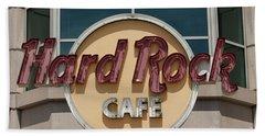 Hard Rock Cafe Beach Towel