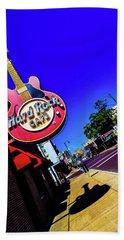 Hard Rockin On Beale Beach Sheet