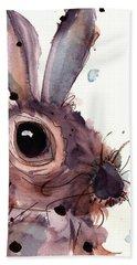 Hare Beach Sheet by Dawn Derman