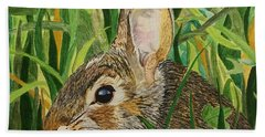 Hare's Breath Beach Towel