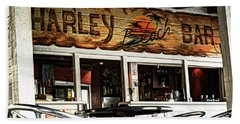 Harley Beach Bar Beach Towel