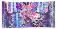Harmony Butterfly Beach Towel