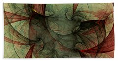Beach Towel featuring the digital art Harmony Remains by Jeff Iverson