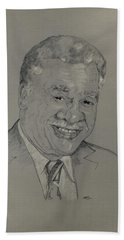 Harold Washington  Beach Towel