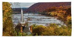 Harpers Ferry, West Virginia Beach Towel