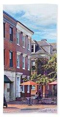 Harrisburg Pa - Coffee Shop Beach Sheet