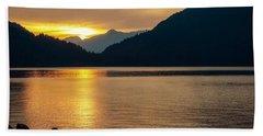 Harrison Lake, British Columbia Beach Towel