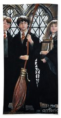 Harry Potter Beach Towel by Tom Carlton