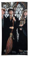 Harry Potter Beach Towel by Tom Carlton
