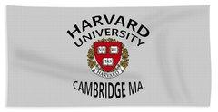 Harvard University Cambridge M A  Beach Towel