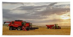 Harvest Delayed Beach Towel by Rob Graham
