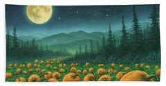 Harvest Moon 01 Beach Sheet