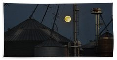 Harvest Moon Beach Towel