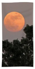 Harvest Moonrise Beach Towel