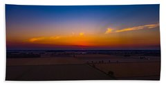 Harvest Sunrise Beach Towel