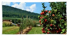 Harvest Time In The Catoctin Mountains Beach Towel