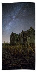 Beach Towel featuring the photograph Harvested  by Aaron J Groen