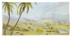 Haughton Court - Hanover Jamaica Beach Towel