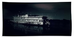 Haunted Dinner Cruise On The Columbia River  Beach Sheet by Lisa Kaiser
