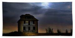 Haunted House Beach Sheet