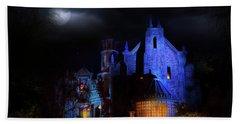 Haunted Mansion At Walt Disney World Beach Sheet