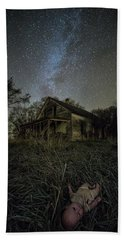 Beach Towel featuring the photograph Haunted Memories by Aaron J Groen