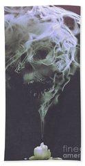 Haunted Smoke  Beach Sheet