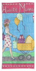 Haute Mama Beach Towel