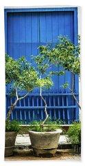 Havana Blue Beach Sheet by Perry Webster