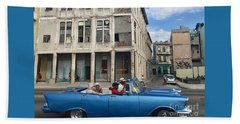 Havana Cruisin Beach Towel