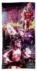 Havana Dancers 2 Beach Sheet