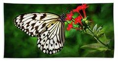Haven't You Noticed The Butterflies? Beach Sheet