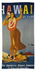 Hawaii By Clipper Beach Towel
