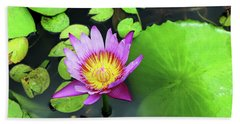 Beach Towel featuring the photograph Hawaii Flora by Denise Moore