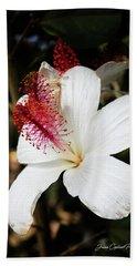 Beach Towel featuring the photograph Hawaiian Hibiscus  by Joann Copeland-Paul
