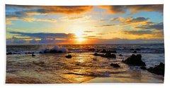 Beach Sheet featuring the photograph Hawaiian Paradise by Michael Rucker