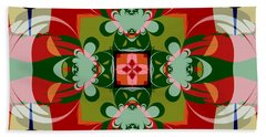 Hawaiian Quilt 22 Beach Towel