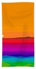 Hawaiian Sea  Beach Towel