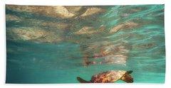 Hawaiian Turtle Beach Towel