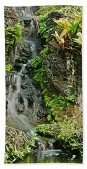 Hawaiian Waterfall Beach Towel
