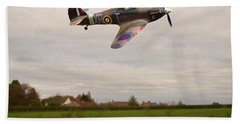 Beach Towel featuring the photograph Hawker Hurricane -1 by Paul Gulliver