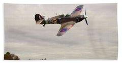 Hawker Hurricane -2 Beach Towel by Paul Gulliver