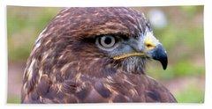 Hawks Eye View Beach Sheet by Stephen Melia
