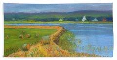 Hay Along The Annapolis  Beach Sheet
