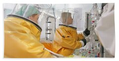 Hazardous Drug Prep In Hospital Pharmacy Beach Towel