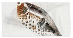 Hazel Grouse Beach Towel